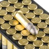 Close up of the 40gr on the 50 Rounds of 40gr LRN .22 LR Ammo by Aguila SuperExtra
