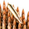 Close up of the 55gr on the 50 Rounds of 55gr FMJ .223 Ammo by Fiocchi