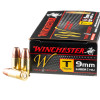 Image of 500  Rounds of 147gr FMJ 9mm Ammo by Winchester