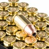 Close up of the 115gr on the 1000 Rounds of 115gr JHP 9mm Ammo by Fiocchi