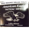 Image of 200 Rounds of 55gr FMJ 5.56x45 Ammo by Federal