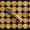 Close up of the 40gr on the 50 Rounds of 40gr LRN .22 LR Ammo by Remington