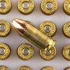 Close up of the 115gr on the 1000 Rounds of 115gr FMJ 9mm Ammo by Federal