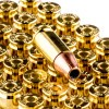 Close up of the 147gr on the 500 Rounds of 147gr JHP 9mm Ammo by Winchester