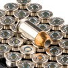 Close up of the 230gr on the 50 Rounds of 230gr JHP .45 ACP Ammo by Remington Golden Saber Bonded