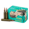 View of Brown Bear .223 ammo rounds