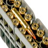 Close up of the 40gr on the 20 Rounds of 40gr Polymer Tip .223 Ammo by Nosler Ammunition