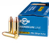 Close up of the 130gr on the 50 Rounds of 130gr FMJ .38 Spl Ammo by Prvi Partizan