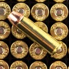 Close up of the 158gr on the 25 Rounds of 158gr JHP .38 Spl Ammo by Hornady
