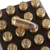 Close up of the 75gr on the 20 Rounds of 75gr HP .380 ACP Ammo by SinterFire Special Duty