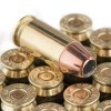 View of Hornady .45 ACP ammo rounds