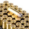 Close up of the 240gr on the 50 Rounds of 240gr SJHP .44 Mag Ammo by Remington