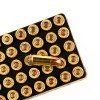 Close up of the 115gr on the 500  Rounds of 115gr JHP 9mm Ammo by Remington