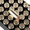 Close up of the 165gr on the 50 Rounds of 165gr FMJTC .40 S&W Ammo by Fiocchi