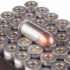 Close up of the 230gr on the 500  Rounds of 230gr FMJ .45 ACP Ammo by Silver Bear