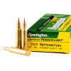 Close up of the 55gr on the 200 Rounds of 55gr PLHP .223 Ammo by Remington