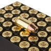 Close up of the 90gr on the 50 Rounds of 90gr JHP .380 ACP Ammo by Fiocchi