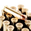 Close up of the 125gr on the 20 Rounds of 125gr JHP .357 Mag Ammo by Corbon