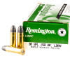 Close up of the 158gr on the 50 Rounds of 158gr LRN .38 Spl Ammo by Remington