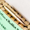 Close up of the 124gr on the 500 Rounds of 124gr FMJ 300 AAC Blackout Ammo by Sellier & Bellot