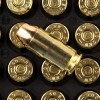 Close up of the 180gr on the 50 Rounds of 180gr FMJ .40 S&W Ammo by Magtech