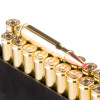 Close up of the 168gr on the 200 Rounds of 168gr A-MAX 308 Win Ammo by Hornady