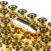 Close up of the 115gr on the 1000 Rounds of 115gr FMJ 9mm Ammo by Winchester