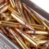 Close up of the 55gr on the 150 Rounds of  55 Grain FMJ 5.56x45 Ammo by Federal American Eagle