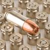Close up of the 124gr on the 50 Rounds of 124gr HP 9mm + P Ammo by Speer