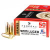 Image of 50 Rounds of 115gr FMJ 9mm Ammo by Federal