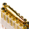 Close up of the 180gr on the 200 Rounds of 180gr SP .308 Win Ammo by Federal