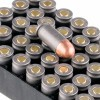 Close up of the 94gr on the 50 Rounds of 94gr FMJ .380 ACP Ammo by Wolf