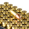 Close up of the 147gr on the 500 Rounds of 147gr FNEB 9mm Ammo by Remington