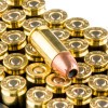 Close up of the 115gr on the 600 Rounds of 115gr JHP 9mm Ammo by Remington
