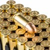 Close up of the 115gr on the 250 Rounds of 115gr FMC 9mm Ammo by Magtech