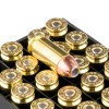Close up of the 155gr on the 200 Rounds of 155gr JHP .40 S&W Ammo by Hornady