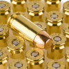 Close up of the 155gr on the 1000 Rounds of 155gr FMJ .40 S&W Ammo by Federal