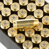 View of Remington .40 S&W ammo rounds