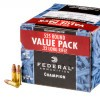 View of Federal .22 LR ammo rounds