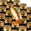 Close up of the 180gr on the 50 Rounds of 180gr FMJ .40 S&W Ammo by Winchester