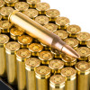 Close up of the 55gr on the 1000 Rounds of 55gr FMJ .223 Ammo by Aguila
