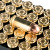 Close up of the 90gr on the 300 Rounds of 90gr FMJ .380 ACP Ammo by PMC