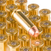 Close up of the 158gr on the 1000 Rounds of 158gr TMJ 38 Special +P Ammo by Speer