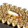 Close up of the 115gr on the 1000 Rounds of 115gr MC 9mm Ammo by Remington