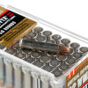 View of Hornady .22 WMR ammo rounds