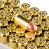 Close up of the 230gr on the 200 Rounds of 230gr FMJ .45 ACP Ammo by Blazer Brass