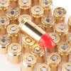 Close up of the 115gr on the 500 Rounds of 115gr Total Synthetic Jacket 9mm Ammo by Federal