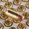 Close up of the 95gr on the 200 Rounds of 95gr FMJ .380 ACP Ammo by Winchester USA