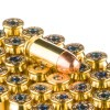 Close up of the 230gr on the 50 Rounds of 230gr TMJ .45 ACP Ammo by Federal