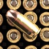 Close up of the 95gr on the 250 Rounds of 95gr MC .380 ACP Ammo by Remington